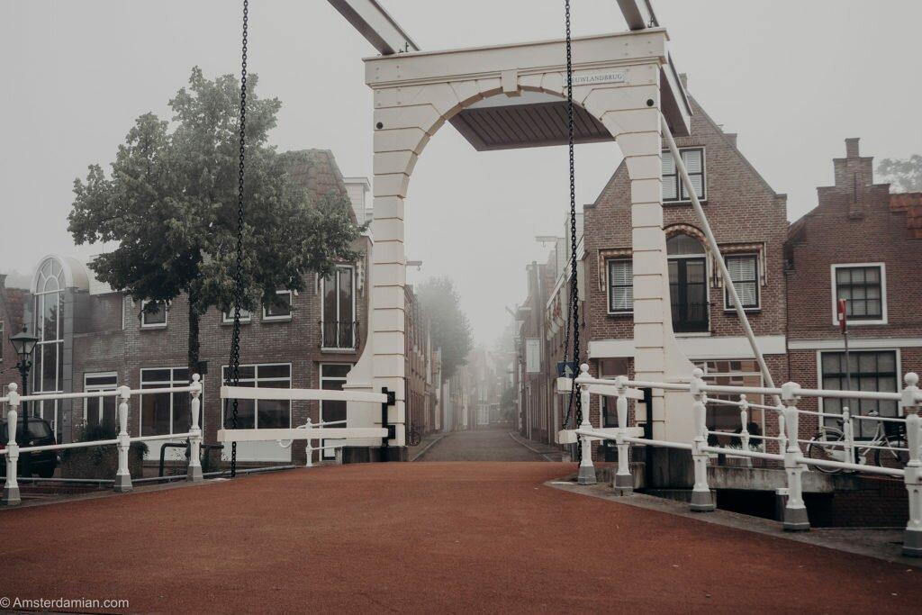 Misty summer morning Alkmaar 02