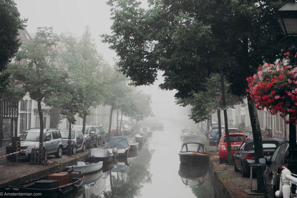 Misty summer morning Alkmaar 04