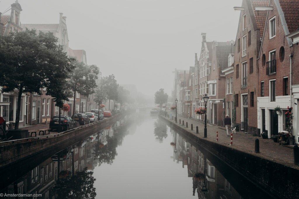 Misty summer morning Alkmaar 05