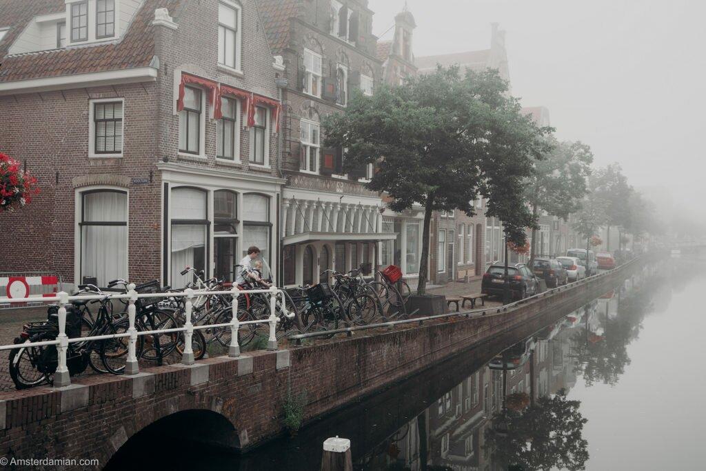 Misty summer morning Alkmaar 06