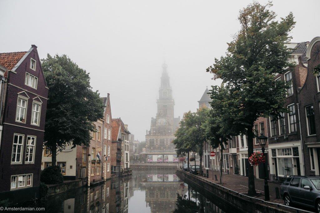 Misty summer morning Alkmaar 07