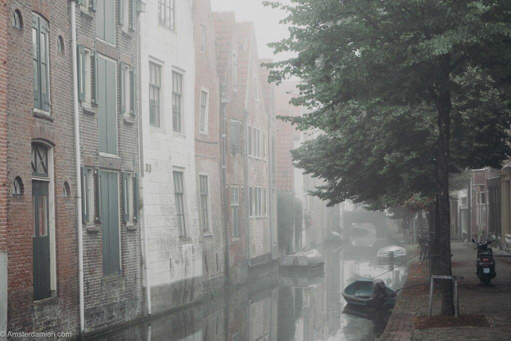 Misty summer morning Alkmaar 08
