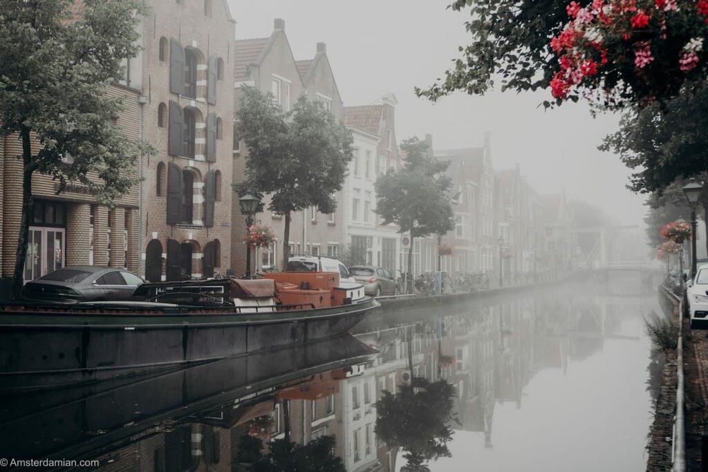 Misty summer morning Alkmaar 09