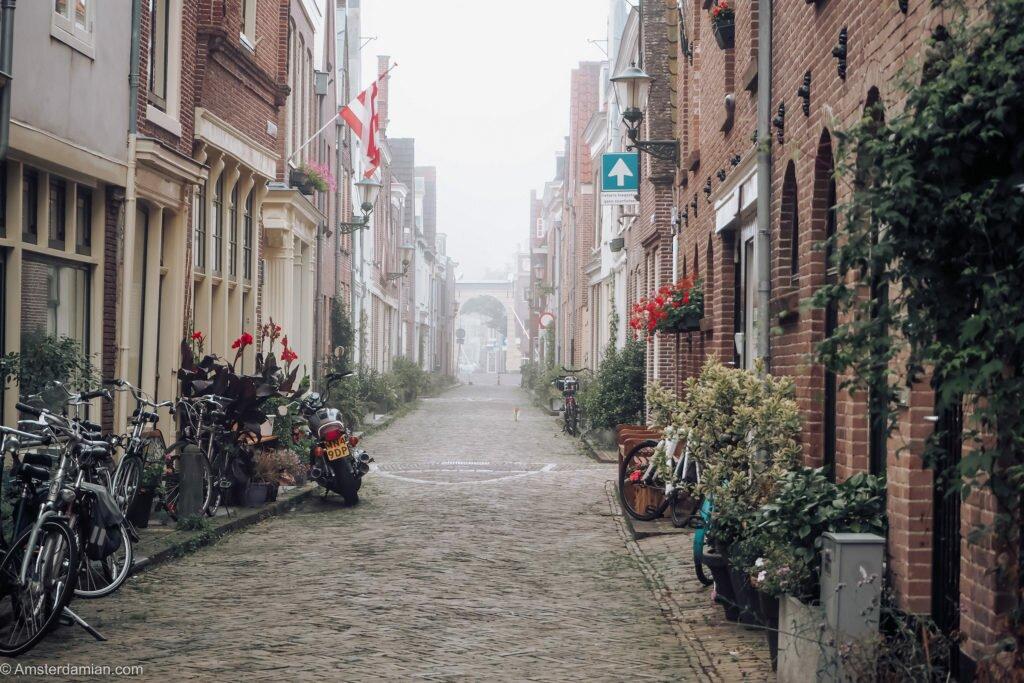 Misty summer morning Alkmaar 11