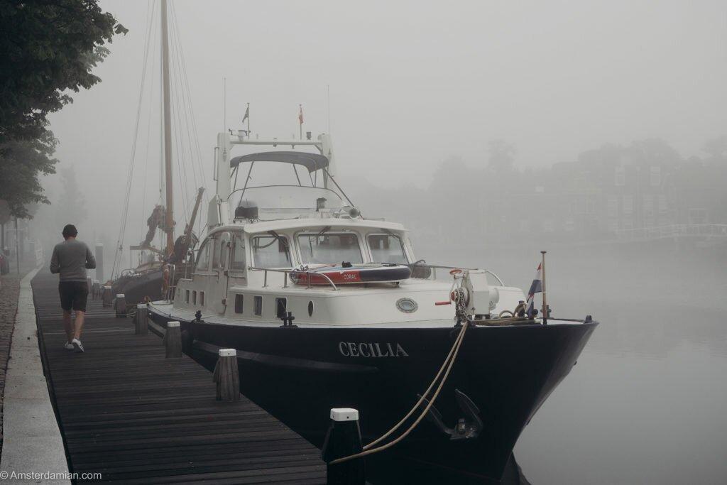 Misty summer morning Alkmaar 14