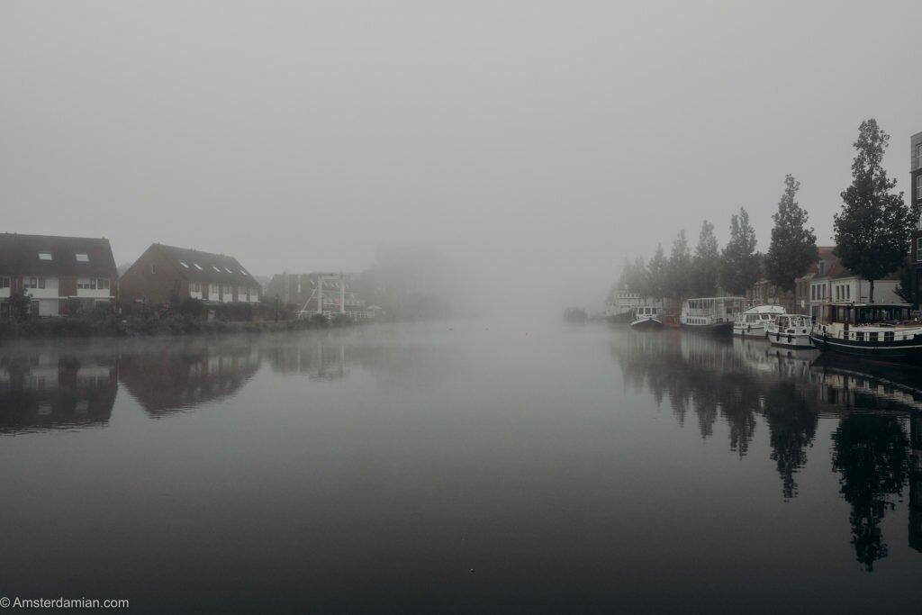 Misty summer morning Alkmaar 15