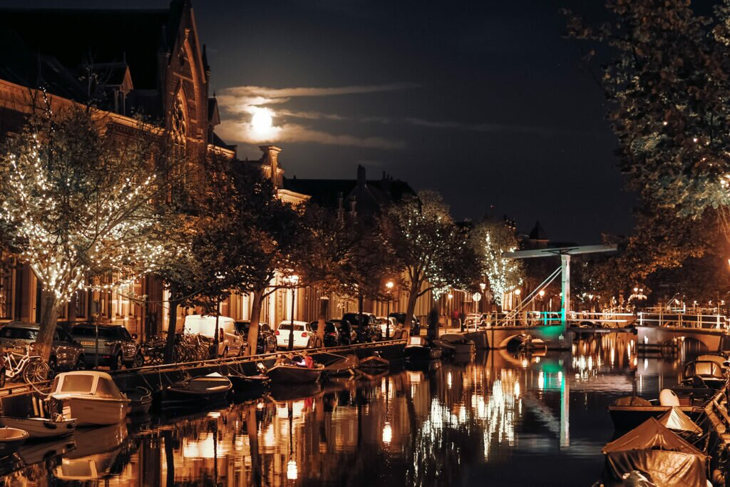 Evening in Alkmaar