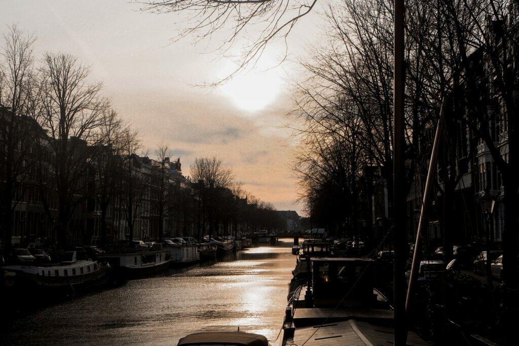 Amsterdam in lockdown 09