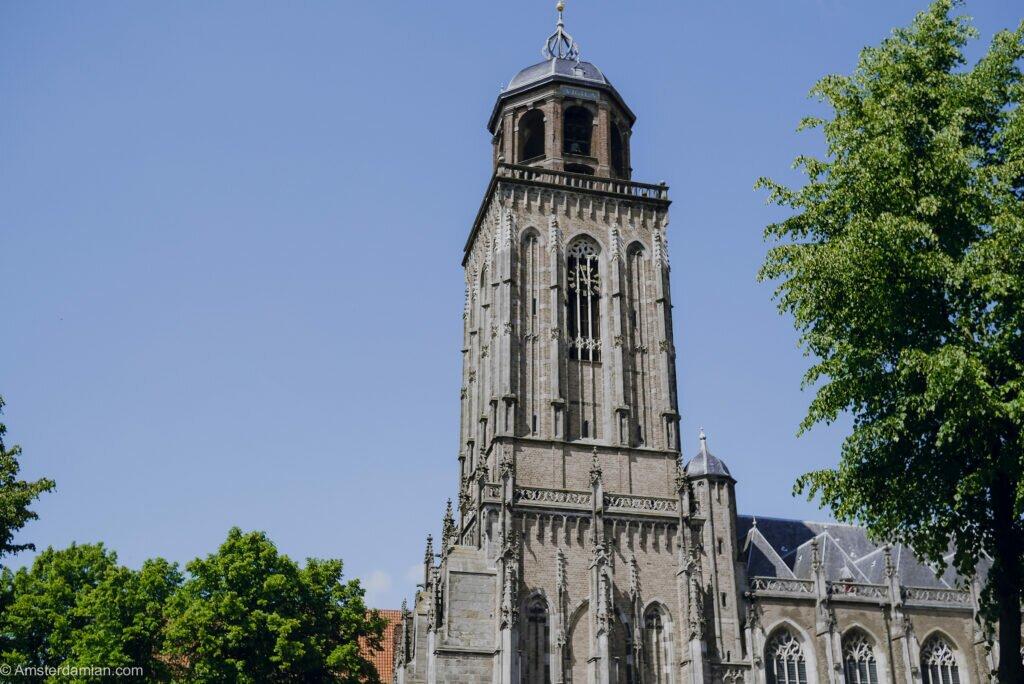 Church tower Deventer