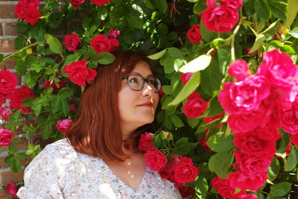 Me and the roses