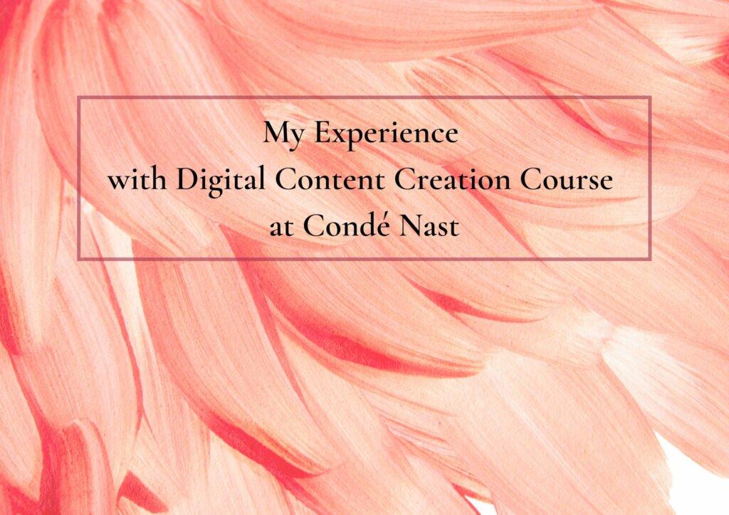 Conde Nast experience