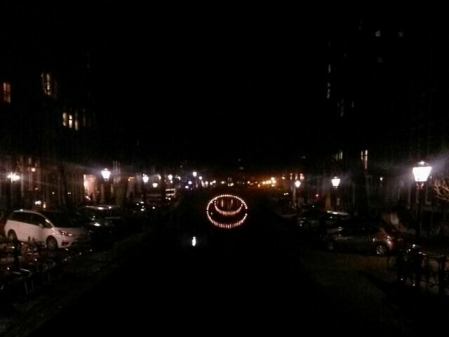 The canals are smiling