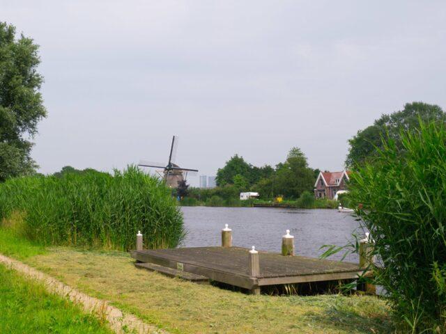 Bike ride along the Amstel