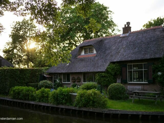 A lovely evening in Giethoorn