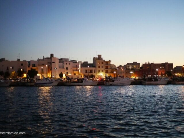 After the sunset: Monopoli