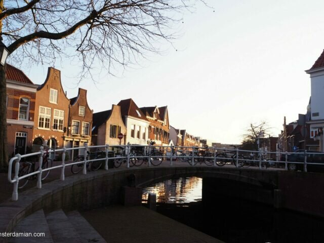 A sunny winter day in Haarlem
