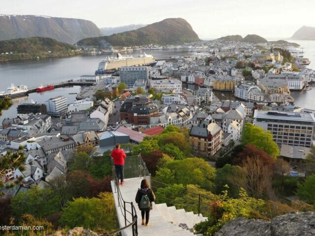 My first time in Norway: Ålesund