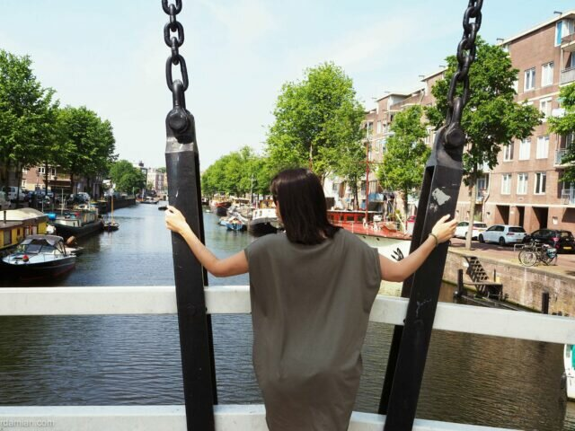Houthaven and NDSM: a photo session with Elena