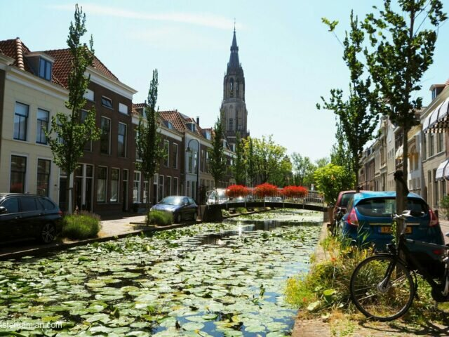 A summer fairy tale in Delft