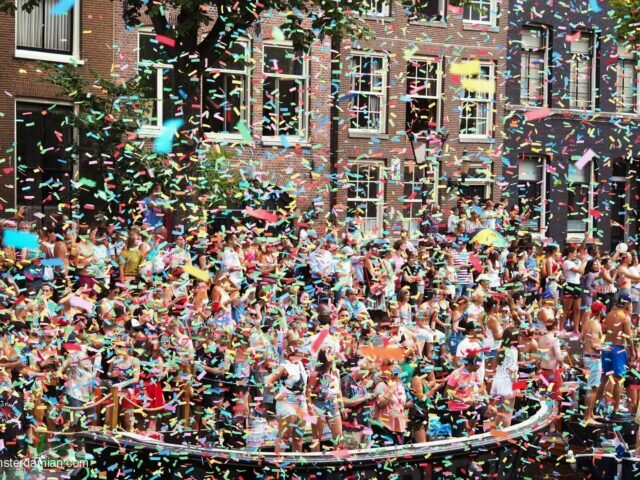Pride 2018 Amsterdam: the Canal Parade