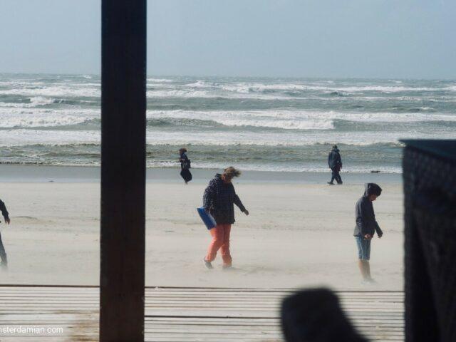 Windy Day at Zandvoort