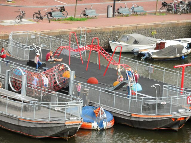 Playground on a boat