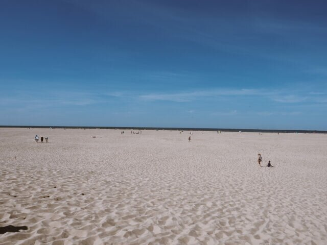 In the mood for sun: beaches of North Holland