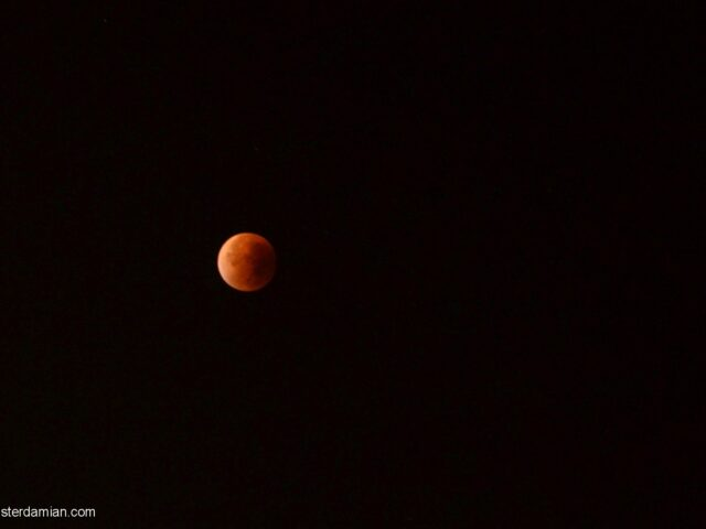 Super Moon Total Eclipse – September 2015