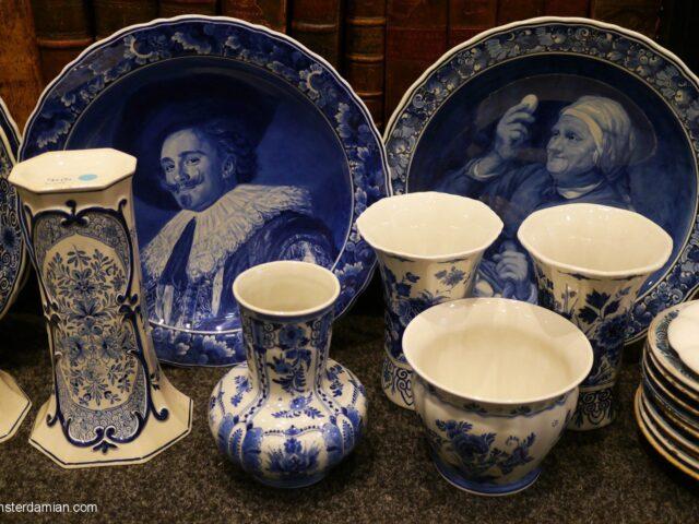 Found in Delft: antique ceramic shop