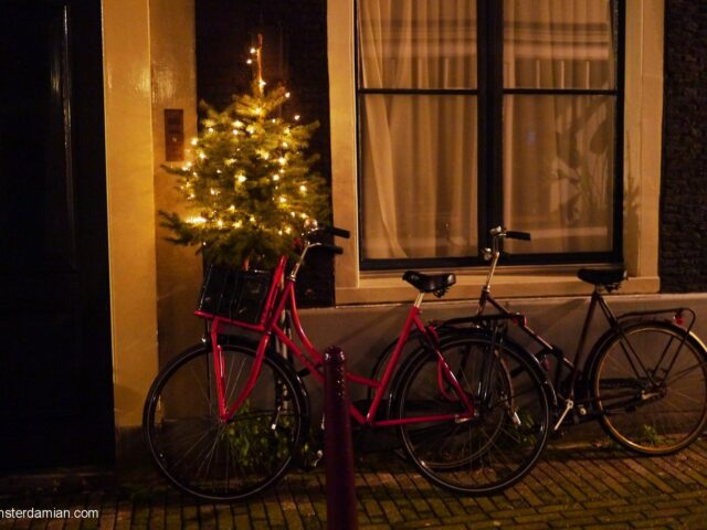 Christmas night in Amsterdam