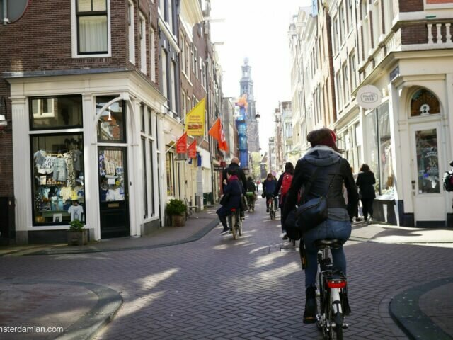 City bike tour in Amsterdam