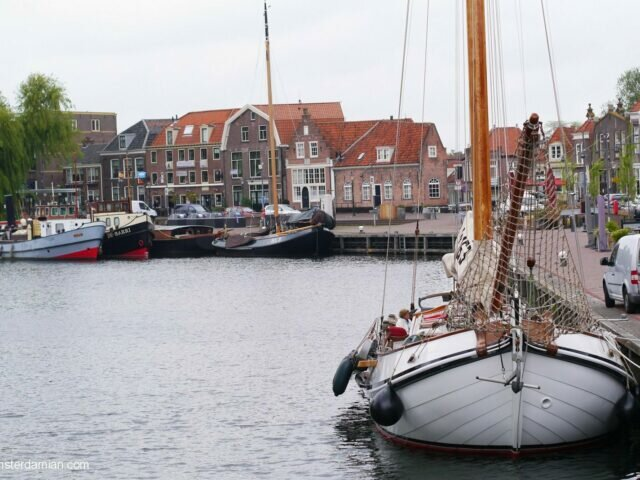 Lovely harbour town: Enkhuizen