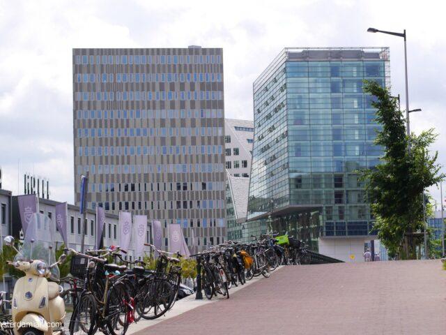 Modern architecture in Amsterdam: IJdock