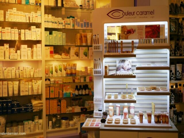 Where to find organic beauty products in Amsterdam