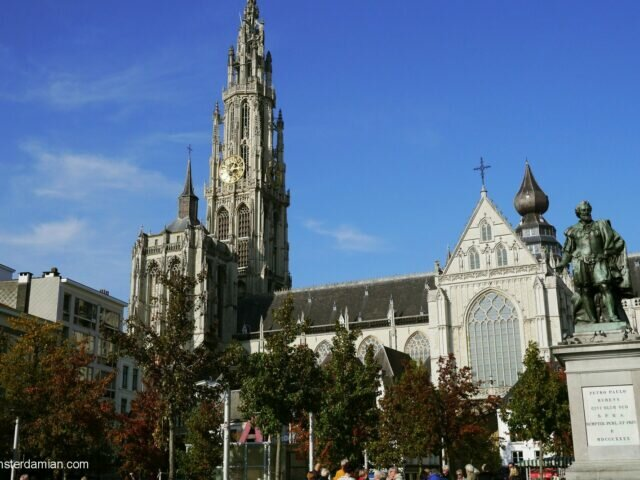 One autumn day in Antwerp
