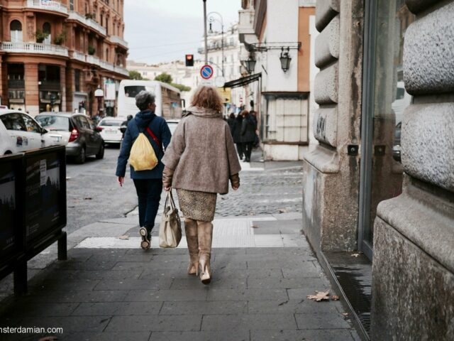 Rome: streets and people