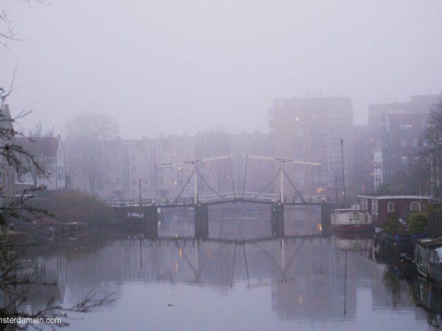 Foggy afternoon on Westelijke Eilanden