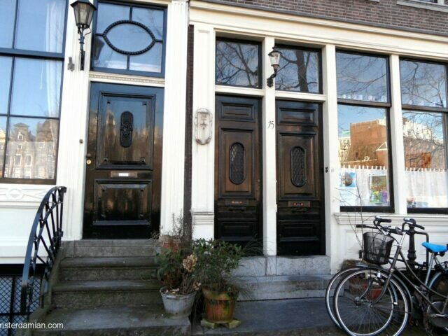 The doors of Amsterdam