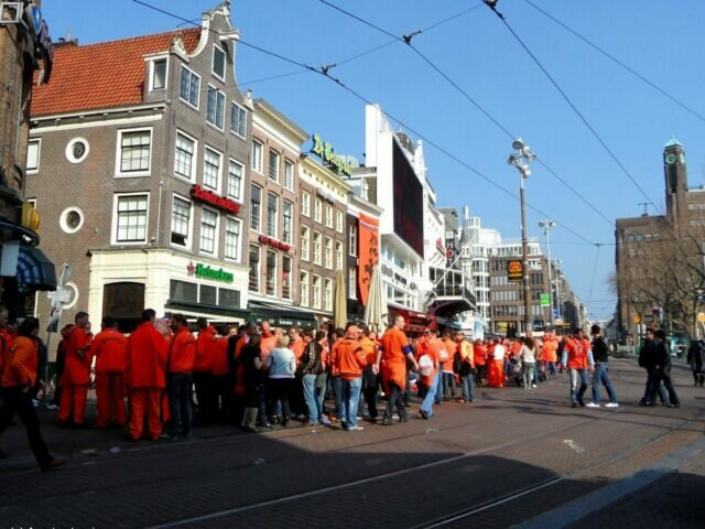 Orange supporters invasion