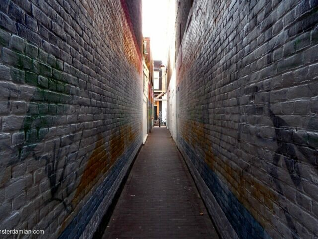 A very narrow street